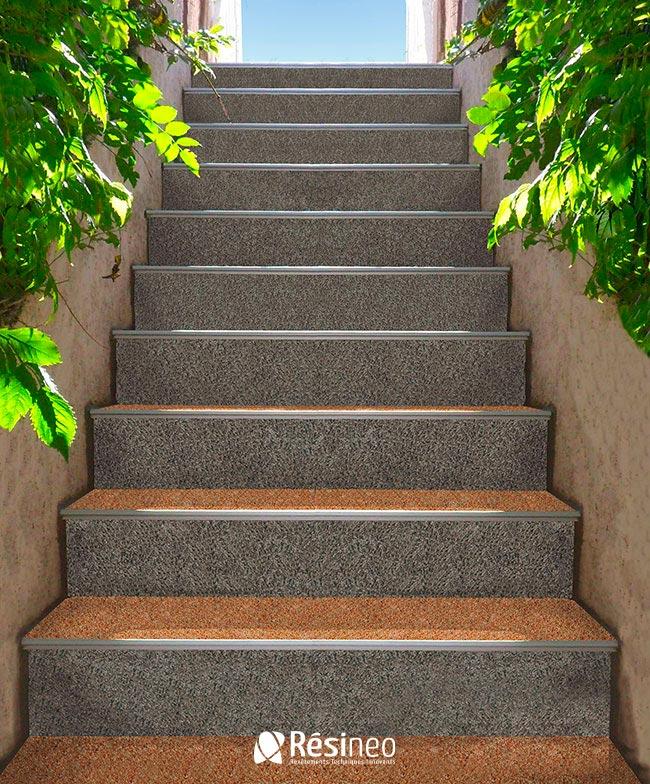 Revetement Exterieur Antiderapant Escalier