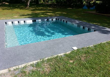 [Réalisation] Plage de piscine en Resineo Plage | Landes