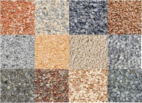 color aggregates