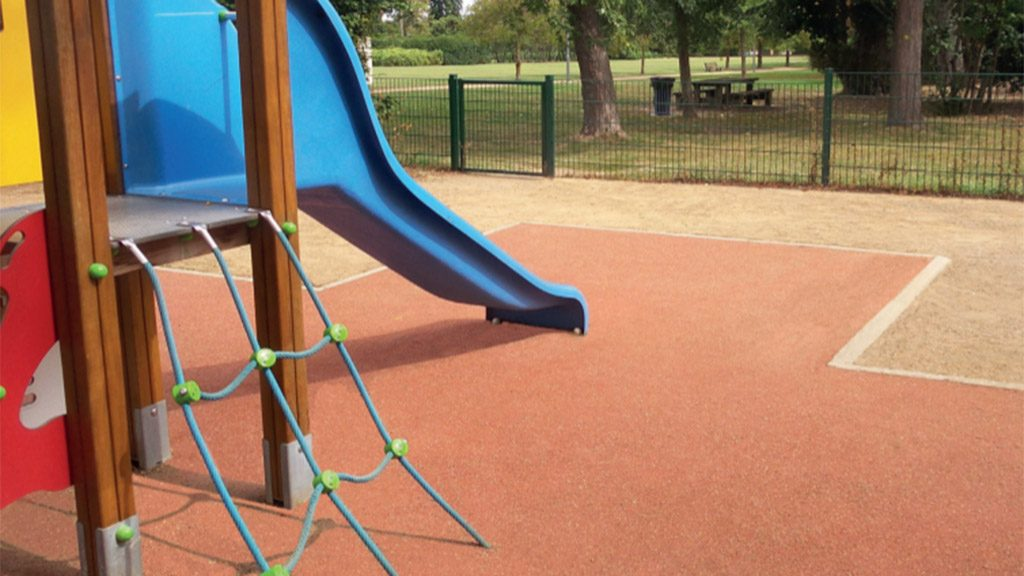 coatings resin for playgrounds