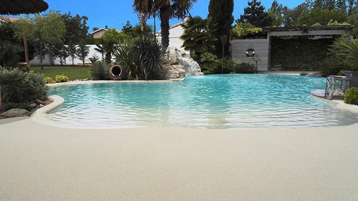 Résineo plages de piscine