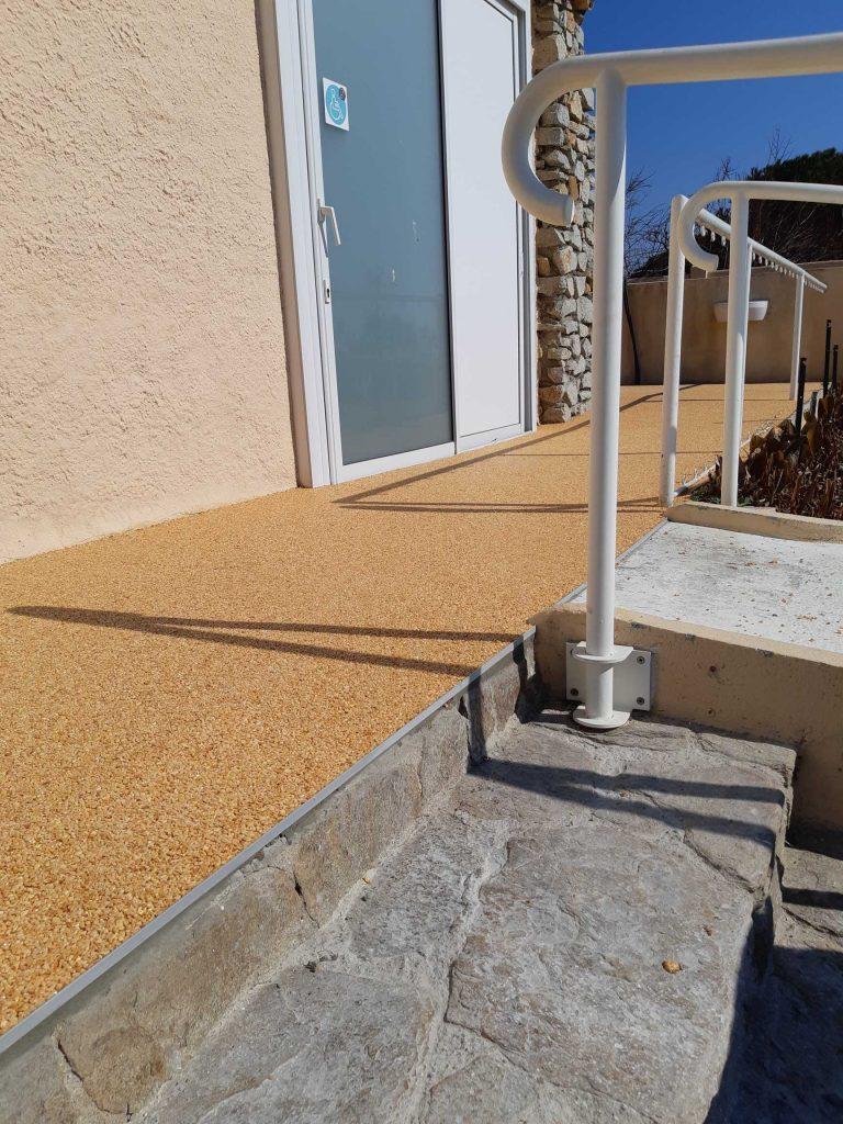 moquette de pierre terrasse