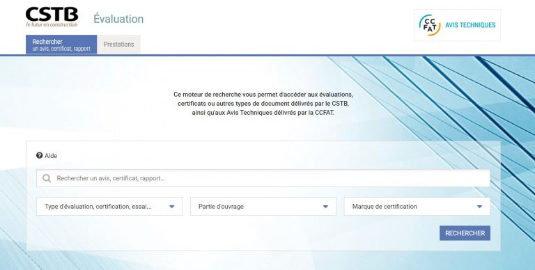 Résineo, le seul revêtement certifié par le Centre Scientifique et Technique du Bâtiment ( CSTB)