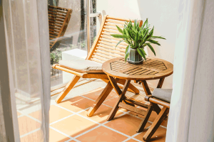 mobilier bois terrasse