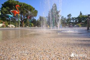 revêtement parc aquatique