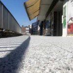 Rénovation d'un parvis en revêtement perméable à Toulouse (31)